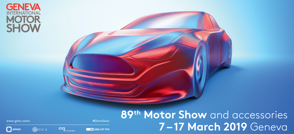Another Milestone: The 89th edition of the Geneva International Motor Show.