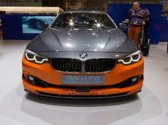 GIMS Premieres BMW Alpina B4 S Bi Turbo Coupe AWD Edition99