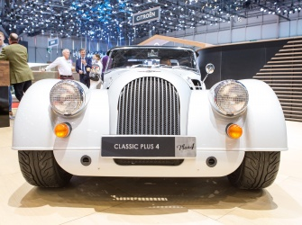 GIMS 2019 Premieres Morgan Plus 4 110 Works Edition