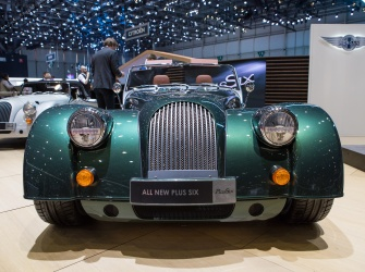 GIMS 2019 Premieres Morgan Plus 6