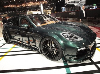The new TECHART Grand GT based on the Panamera Sport Turismo