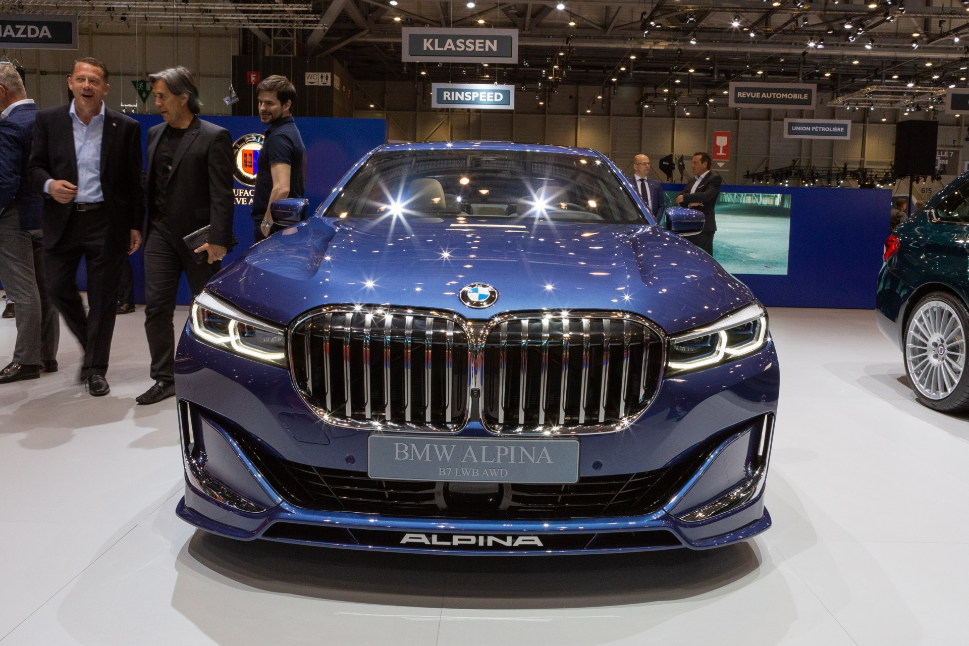b7 biturbo  geneva international motor show
