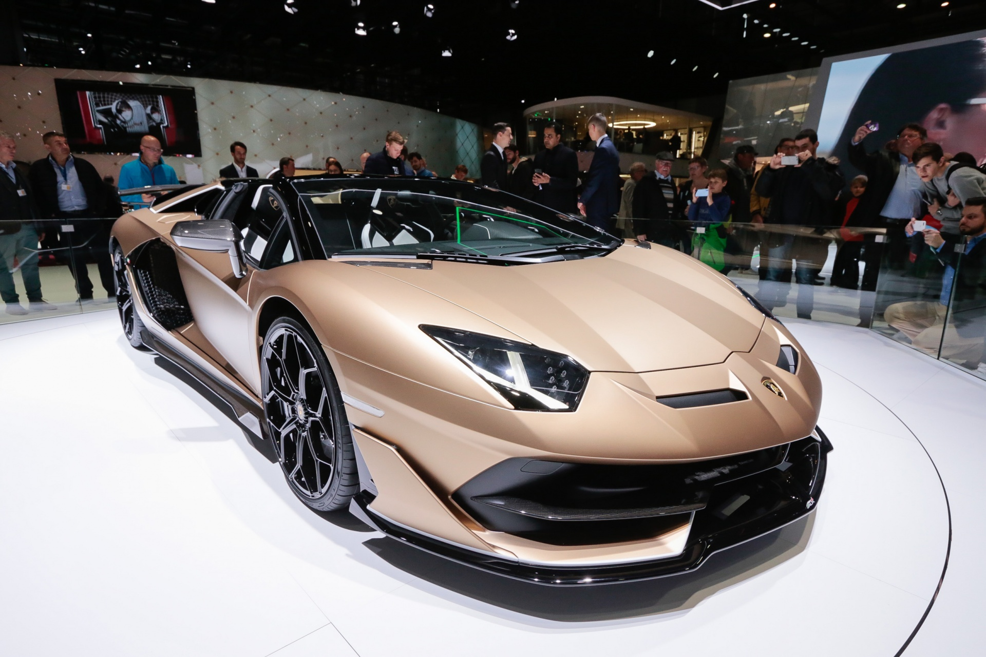 Aventador Svj Roadster Geneva International Motor Show