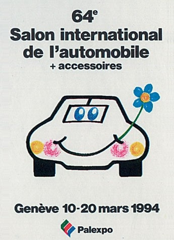 Geneva International Motor Show 1994 poster