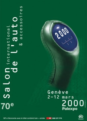 Geneva International Motor Show 2000 poster