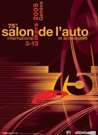 Geneva International Motor Show 2005 poster