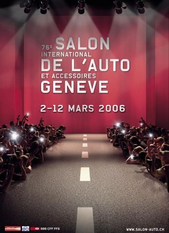 Geneva International Motor Show 2006 poster