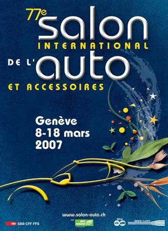 Geneva International Motor Show 2007 poster