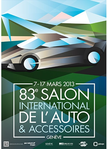 Geneva International Motor Show 2013 poster