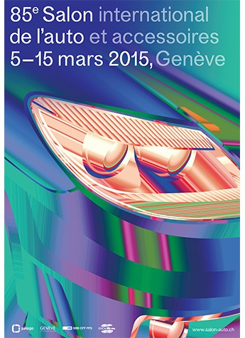 Geneva International Motor Show 2015 poster