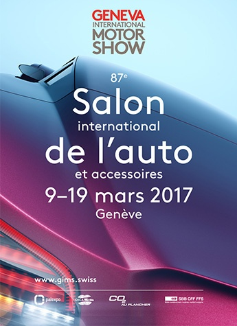 Geneva International Motor Show 2017 poster
