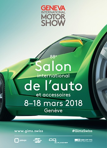 Geneva International Motor Show 2018 poster